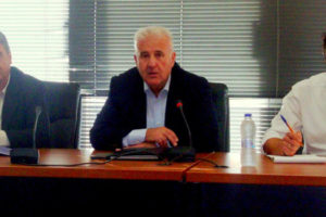 Σύσκεψη συντονιστικού Πολιτικής Προστασίας