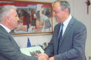 Επίσκεψη Υφυπουργού Μακεδονίας - Θράκης Καράογλου