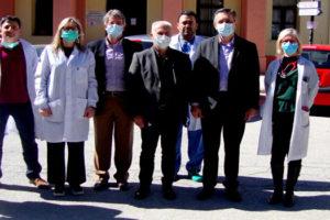 Επίσκεψη Περιφερειάρχη σε Νοσοκομείο Φλώρινας