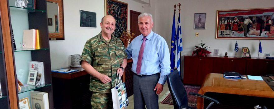 Συνάντηση Αντιπεριφερειάρχη Φλώρινας με Διοικητή Γ΄ Σώματος Στρατού