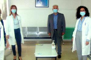 Δωρεά εξοπλισμού σε Κέντρο Υγείας Αμυνταίου