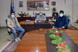 Συνάντηση με συντονιστή ΕΟΔΥ Δυτικής Μακεδονίας Ιορδάνη Ρωμιόπουλο