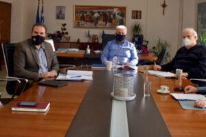 Σύσκεψη για χωροταξικό σχεδιασμό ΠΔΜ
