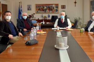 Συνάντηση για παύση λειτουργίας συνοριακού σταθμού Κρυσταλλοπηγής
