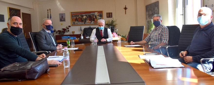 Σύσκεψη με εκπροσώπου του Πανεπιστημίου