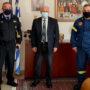 Εθιμοτυπική επίσκεψη νέου Διοικητή της Περιφερειακής Πυροσβεστικής Διοίκησης Δυτικής Μακεδονίας