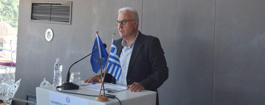 Επιτυχής ολοκλήρωση του απολογισμού Α΄ εξαμήνου 2021 της Π.Ε. Φλώρινας από τον Αντιπεριφερειάρχη κ. Ιωάννη Κιοσέ