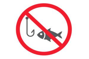 Απαγορεύεται το ψάρεμα